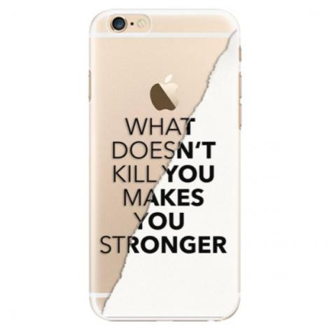 Silikonové pouzdro Bumper iSaprio - Gold and WH Marble - iPhone XS