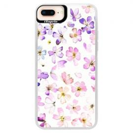 Neonové pouzdro Pink iSaprio - Owl And Coffee - iPhone XS