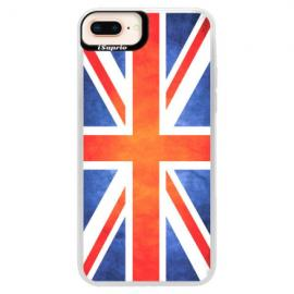 Neonové pouzdro Pink iSaprio - Three Dandelions - black - iPhone XS