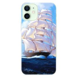 Plastové pouzdro iSaprio - Gold and WH Marble - iPhone 5C